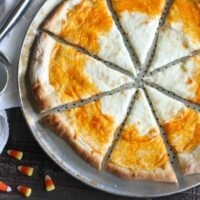 Candy Corn Pizza