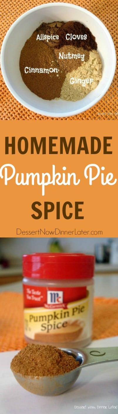 Pumpkin Pie Spice is easy and inexpensive to make with spices you probably already have at home. The perfect blend of spices for all your pumpkin desserts!