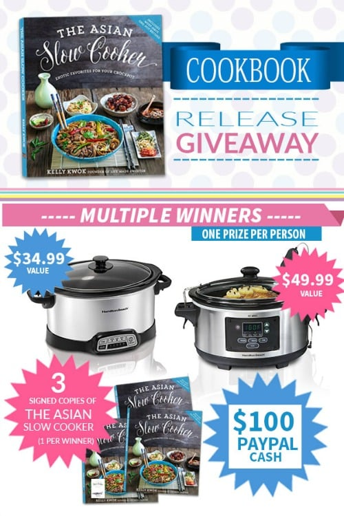 The Asian Slow Cooker Giveaway - November 15th - 30th, 2016