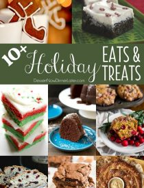Holiday flavors are found in all kinds of sweet and savory recipes. Explore these 10+ classic and unique Holiday Eats & Treats, and give 'em a try!