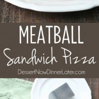 This deep dish casserole is a meatball sandwich and pizza in one! Saucy meatballs and pieces of pepperoni are sandwiched between fresh bread and topped with cheese for a hearty dinner, party appetizer, or sports game snack.
