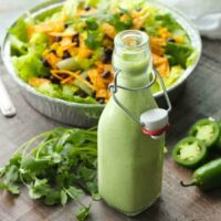 Cafe Rio Style Cilantro Ranch Dressing