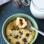 Microwave Chocolate Chip Cookie (+ Video)