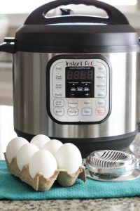 Instant Pot Hard Boiled Eggs cook perfectly in minutes and are so easy to peel! Great for breakfast and Easter eggs! (Video Tutorial)