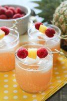 Raspberry Pineapple Punch