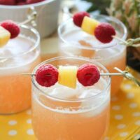 Raspberry Pineapple Punch