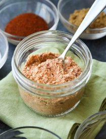 Homemade Taco Seasoning is easy to make and tastes great! Adjust the seasoning to make it mild or hot. Plus there's no MSG or funky ingredients. Check out the video on how to turn this taco seasoning into the best taco meat ever!