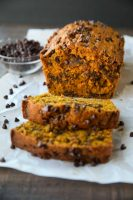 Pumpkin Chocolate Chip Bread (+ Video)