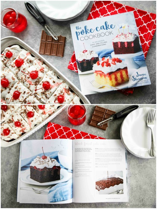 The Poke Cake Cookbook by Jamie Sherman