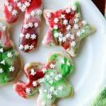 Swirled Christmas Sugar Cookies