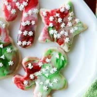 Swirled Christmas Sugar Cookies