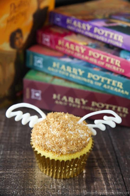 Harry Potter Snitch Cake Recipe