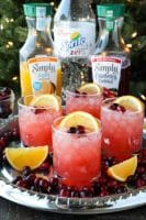 Cranberry Orange Mocktail