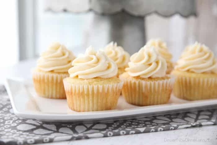 This vanilla cupcakes recipe is easy, classic, moist, fluffy, and perfectly sweet. Great for birthdays, weddings, or any occasion. These basic cupcakes are a must for your recipe box.
