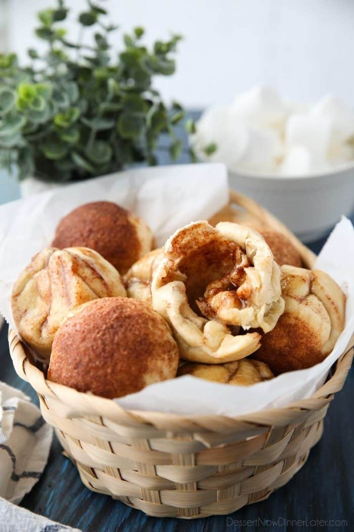 Empty Tomb Rolls (aka Resurrection Rolls or Disappearing Marshmallow Rolls) are a delicious recipe with an Easter story.