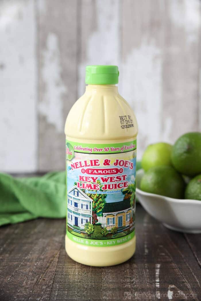 Bottle of Nellie & Joe's Famous Key West Lime Juice From Concentrate.
